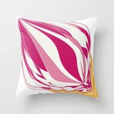 Strawberry Icecream Throw Pillow