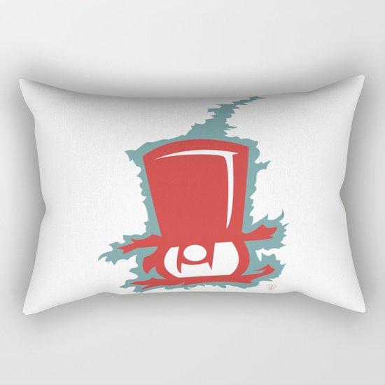 Owl Gentleman Rectangular Pillow