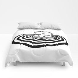 Ripples #2 Comforters