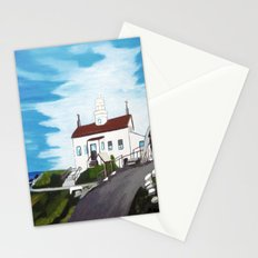 Battery point Lighthouse ( Crescent City, CA ) Stationery Cards