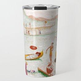 "Florine Stettheimer ""Llake Placid"" Travel Mug"