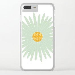 EMMANUEL Clear iPhone Case
