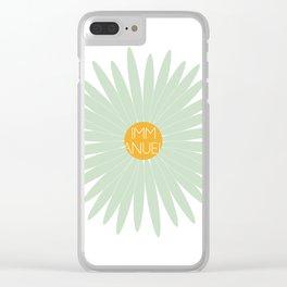 EMMANUEL Clear iPhone Case