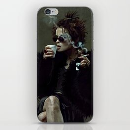 Marla Singer - Remaining Men Together Group Therapy Club - Fight iPhone Skin