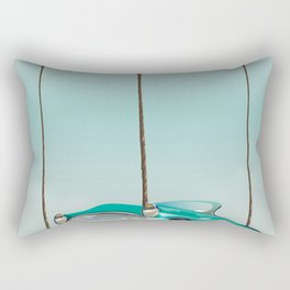 Tallahassee Florida travel poster, Rectangular Pillow