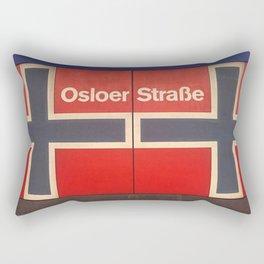 Berlin U-Bahn Memories - Osloer Straße Rectangular Pillow