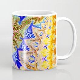 Colourful assymetric fractal patterns Coffee Mug