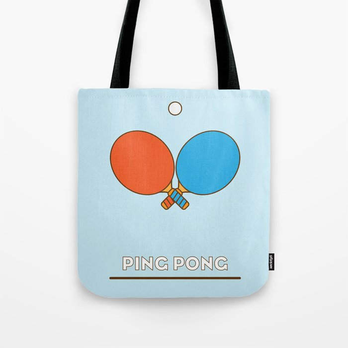 I Am The Sport Part1 Ping Pong Tote Bag