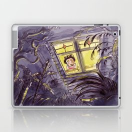 Afraid of the Dark Laptop & iPad Skin