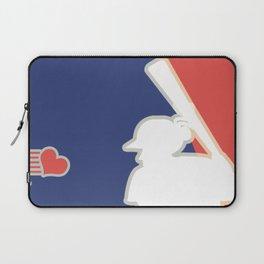 Major Heart League Laptop Sleeve