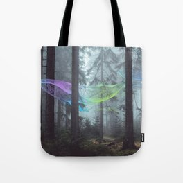 Whale Music in the Forest Tote Bag
