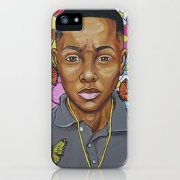 A flower from the concrete (Young King) iPhone Case