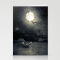 airplanes Stationery Cards featuring Chapter V by Viviana Gonzalez