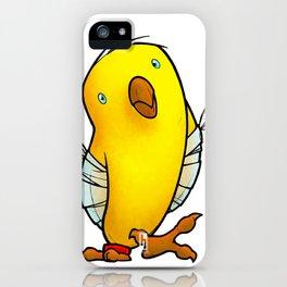 Broken Winged Bird iPhone Case