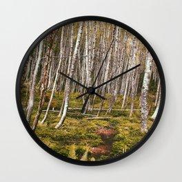 Regrowth from Mount Saint Helen Wall Clock