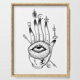 Hand of Mysteries Serving Tray