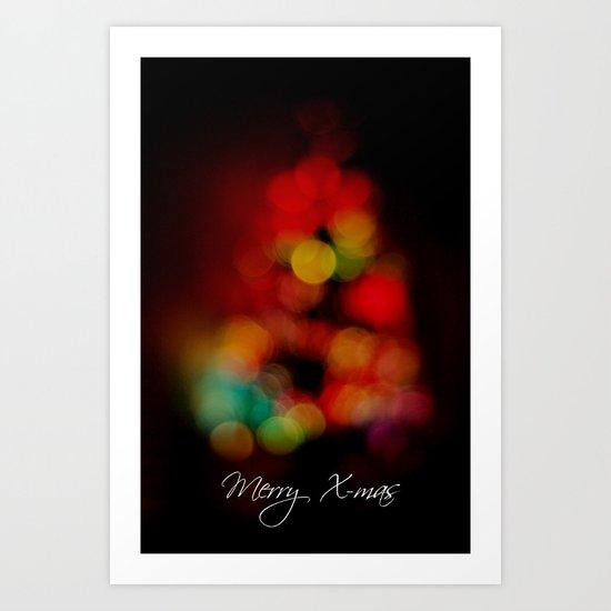 Merry X-mas Art Print