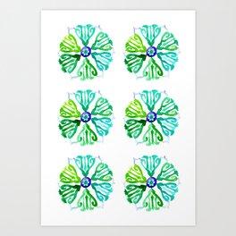 Ethnic style pattern Art Print