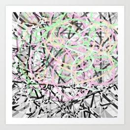 Daikon Art Print