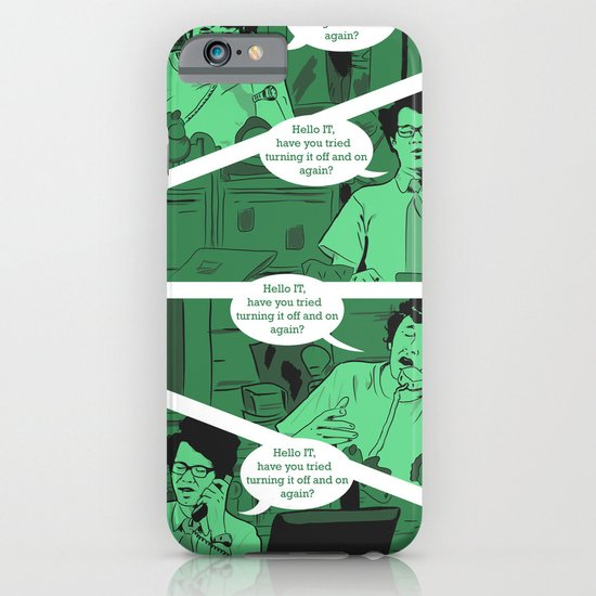 Have You Tried Turning It Off And On Again? iPhone & iPod Case