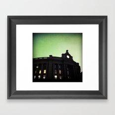 Boston South Station Framed Art Print