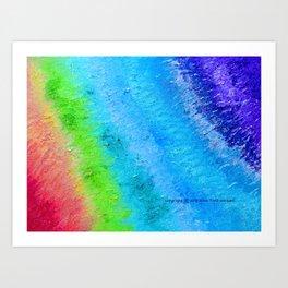 """Sign Painter Palette"" Oil Painting Art Print"