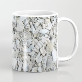 Rock pebbles on beach in Florida Coffee Mug