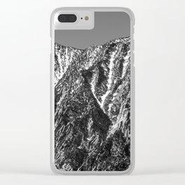 Runoff Clear iPhone Case