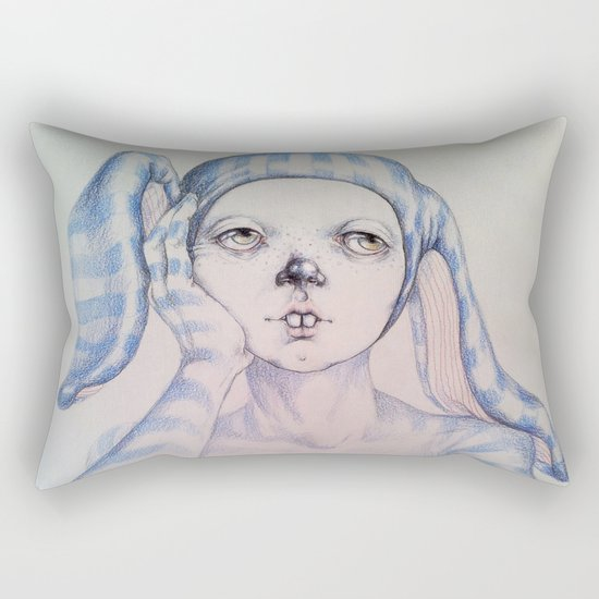 The one who waited Rectangular Pillow