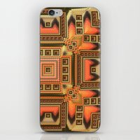 blanket iPhone & iPod Skins featuring Cozy Blanket by Lyle Hatch