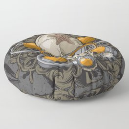 Crânio Floor Pillow
