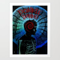 donnie darko Art Prints featuring Donnie Darko  by Dan K Norris