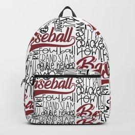 Baseball Typo Backpack