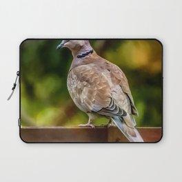 Collared Dove Laptop Sleeve