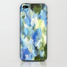Blue Blue Electric Blue iPhone & iPod Skin