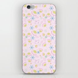 Birds Love Flowers Who Love Birds iPhone Skin