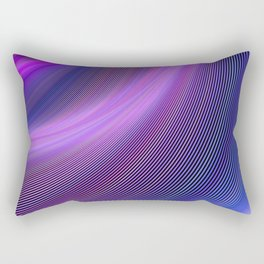 Purple storm Rectangular Pillow