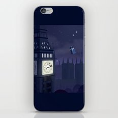 Second Star to the Right, Straight on to Gallifrey iPhone & iPod Skin