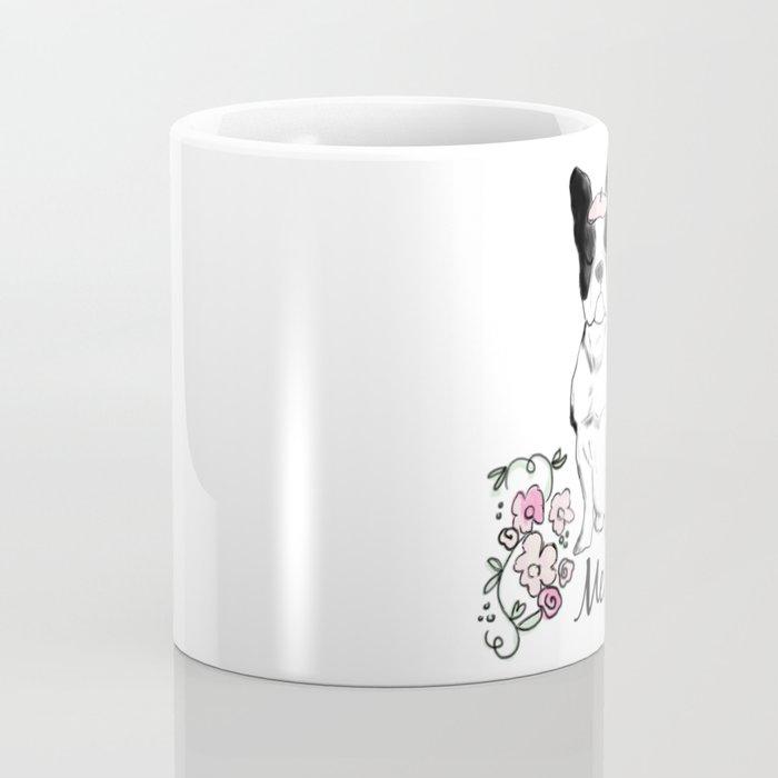 Merci Frenchie Coffee Mug