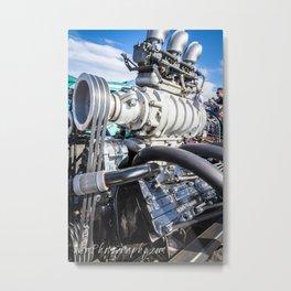 Cadillac Flathead Engine Metal Print