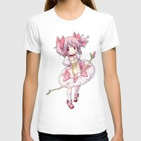 madoka T-shirts featuring Madoka Kaname by Yue Graphic Design