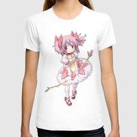 madoka magica T-shirts featuring Madoka Kaname by Yue Graphic Design