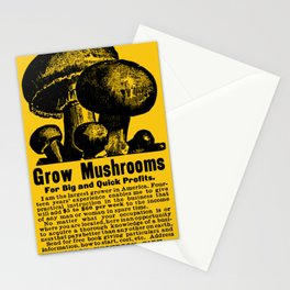 Grow Mushrooms! Stationery Cards