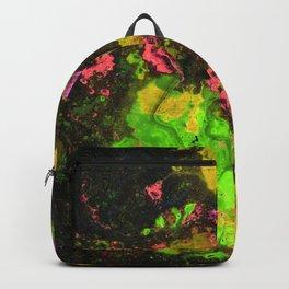 Rasta River Flow (Alcohol Inks Series 06) Backpack