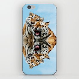 TIGERS - DOUBLE TROUBLE iPhone Skin