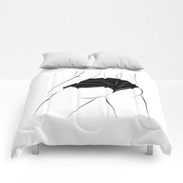 Sporty back Comforters