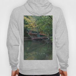 Ghost Ship In Nature  Hoody