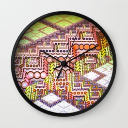 infrastructure II. Abstract Design Wall Clock