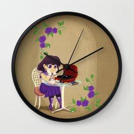 Retro Sailor Saturn Wall Clock