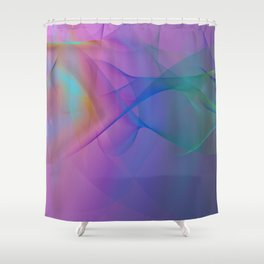 Power and positive energy, 22 Shower Curtain